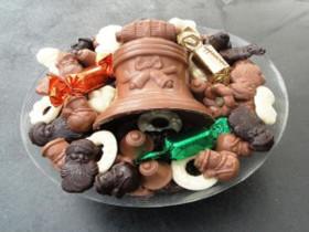 Heerlijke Belgische kerstchocolade, een uniek geschenk, of lekker om zelf op te eten!